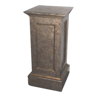 19th Century Pedestal in Original Painted Surface For Sale