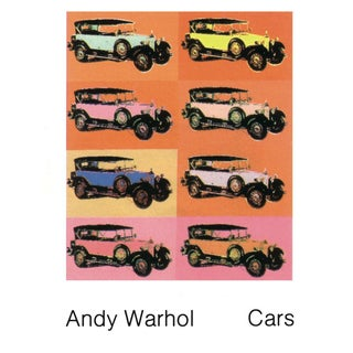 Andy Warhol-Mercedes Typ 400 (1925)-1989 Poster For Sale