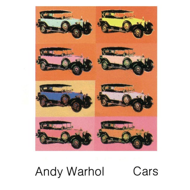 Andy Warhol-Mercedes Typ 400 (1925)-1989 Poster - Image 1 of 3