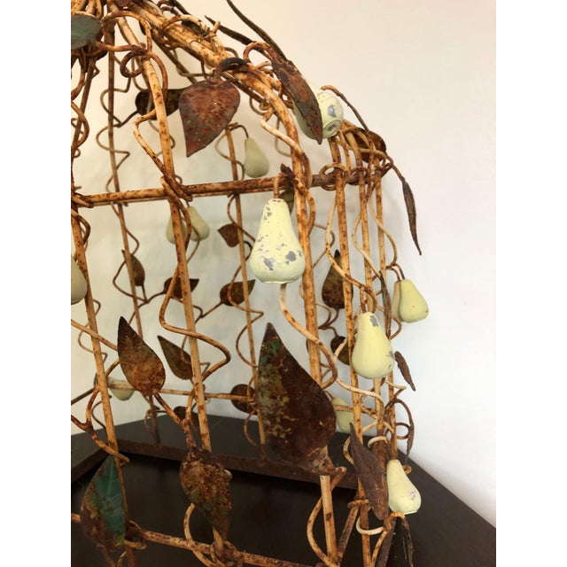 Early 20th Century Tole Birdcage For Sale - Image 4 of 7