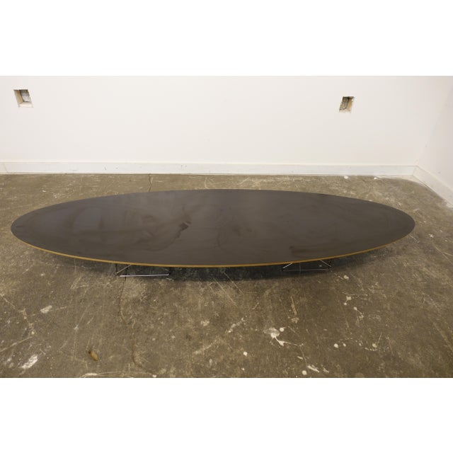 2000 - 2009 Mid-Century Modern Eames Surfboard Coffee Table For Sale - Image 5 of 10