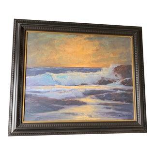 Mid Century Robert McNabb Seascape Painting For Sale