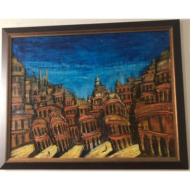 """Purchased from Cuba and custom framed. 44"""" W x 35"""" L. Available for pickup in UWS low 90s."""