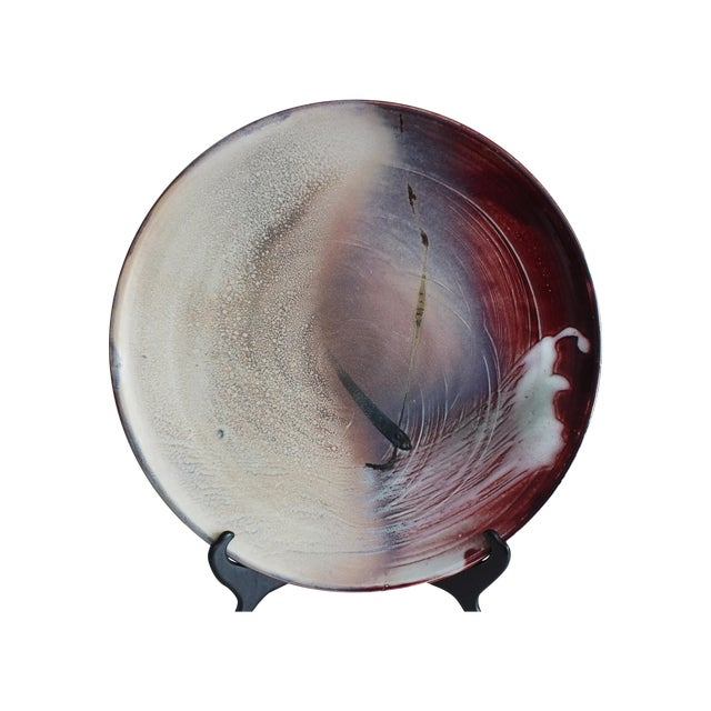 Modern Contemporary Art Pottery Charger Plate - Image 1 of 10