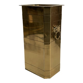 Brass Planter or Beverage Cooler For Sale