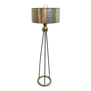 Gerald Thurston Lightolier Floor Lamp For Sale