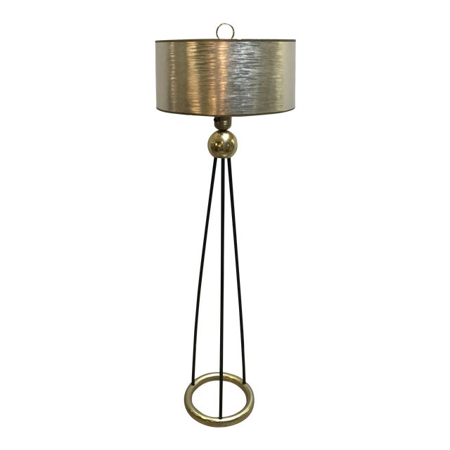 Gerald Thurston Lightolier Floor Lamp | Chairish