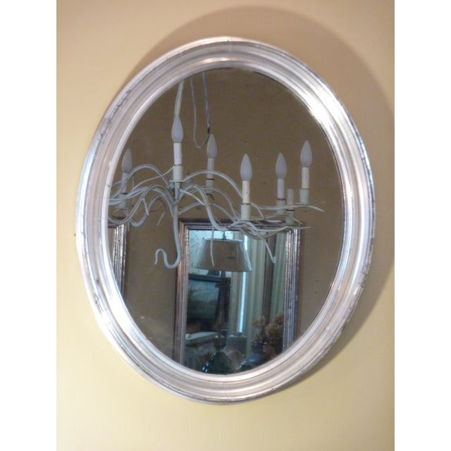 Oval Silverleaf Mirror - Image 2 of 4