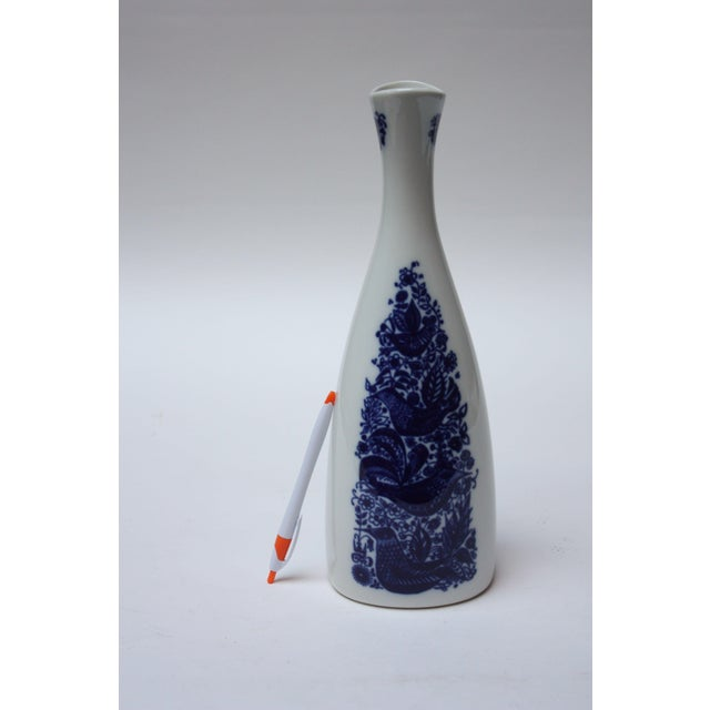 Mid-Century Modern Vintage Norwegian Modern 'Bird and Floral' Vase by Porsgrund For Sale - Image 3 of 8