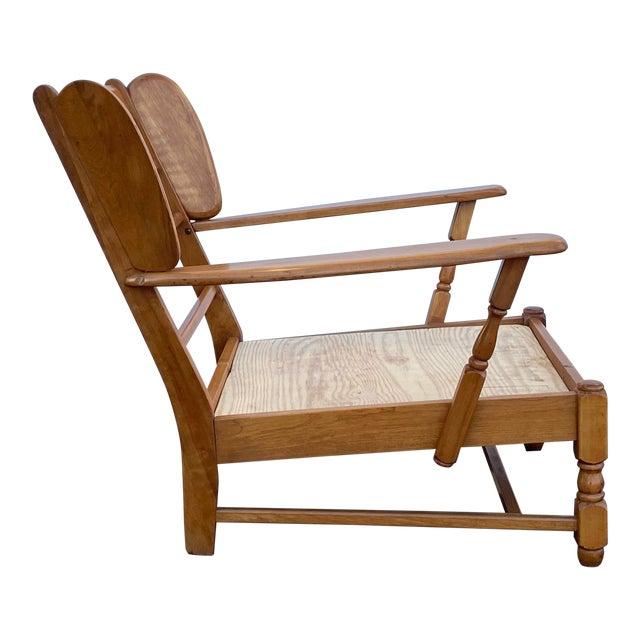 Heywood Wakefield Lounge Chair For Sale