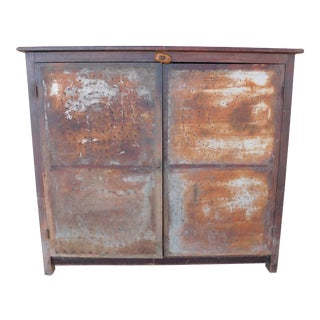 Antique 19th Century 2 Door Pie Safe For Sale