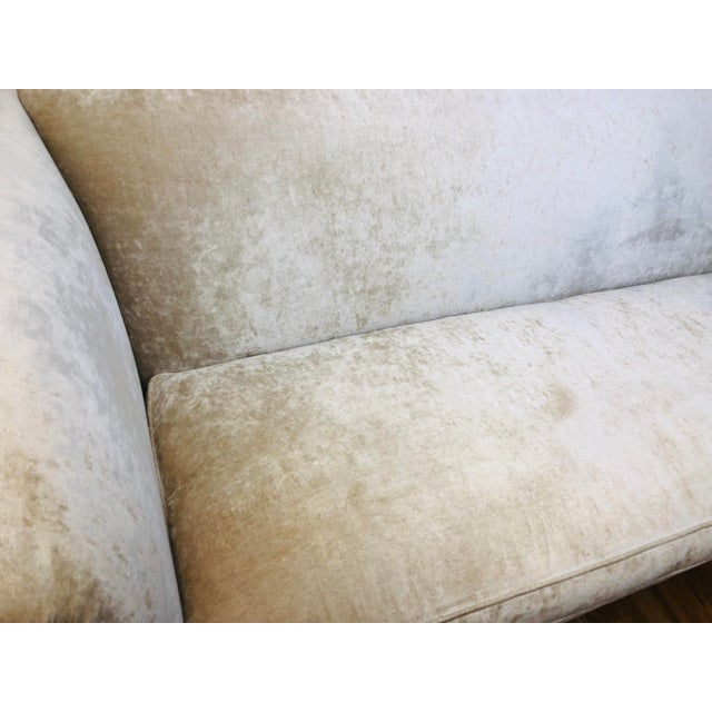 Tan Dapha Upholstery Beige Sofa For Sale - Image 8 of 13