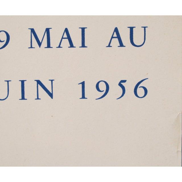 1950s Parisian Celebrities, 1956 Original Vintage Poster, Cheret Style For Sale - Image 5 of 5