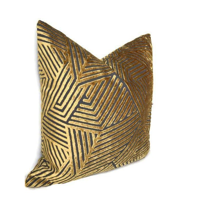 Add A New Look By Using Pillow Covers Made of Designer Fabric! UNUSED PILLOW COVER- Made to Order On the Front: Maze...
