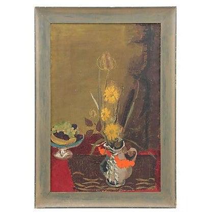 Mid Century Still Life Painting - Image 1 of 7