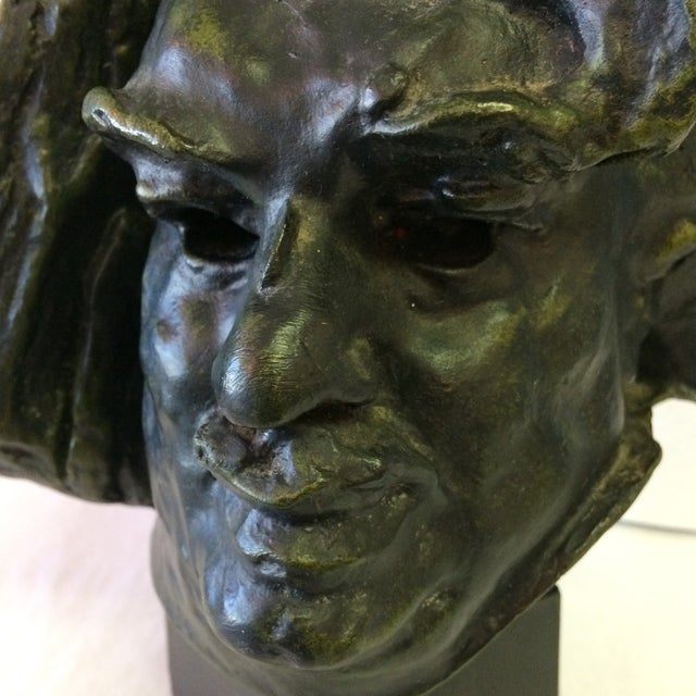 Bust Of De Balzac by A. Rodin For Sale - Image 10 of 11