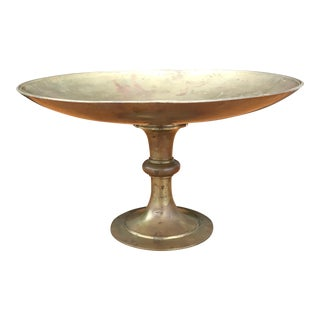 Mid 19th Century Bronze and Marble Tazza For Sale