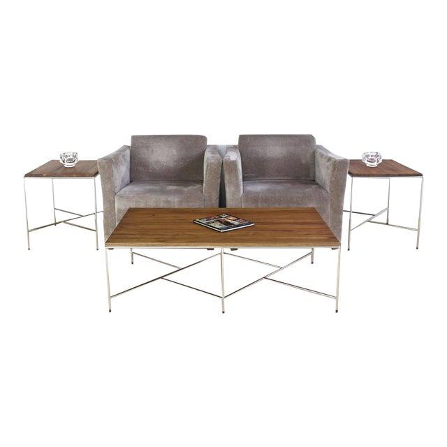 Established Lines, Mid Century Modern or Bauhaus era decor coffee table. Nice rectangle shape with good medium size...