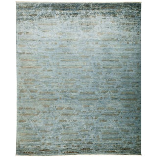 """Vibrance Hand Knotted Area Rug - 8'1"""" X 9'8"""""""