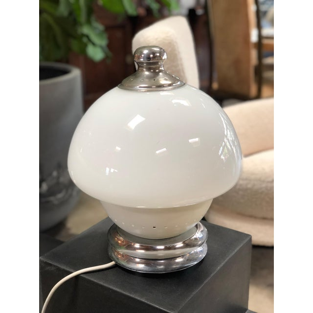 1960s Italian, 1960s Double White Orb For Sale - Image 5 of 7