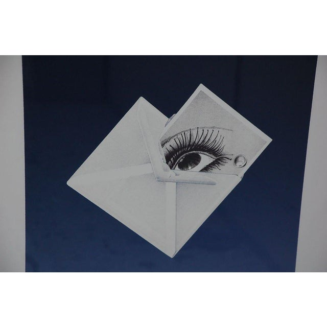 """Surrealist framed print by Bruce Richards (American, born 1948): """"Witness (Man Ray)"""". Numbered 2/45 and signed Bruce..."""