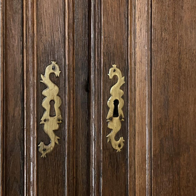 18th Century French Louis XVI Corner Cabinets - a Pair For Sale - Image 9 of 13