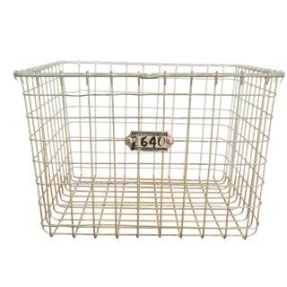 Vintage Mid-Century Wire Basket