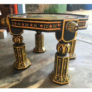1970s Indian Hand-Painted Side Table Preview