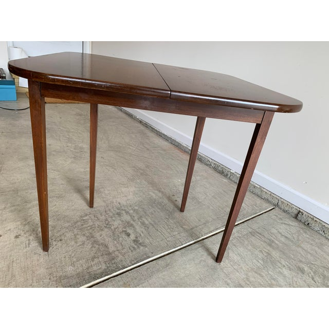 Antique Mutual Furniture Co. Flip Top Mahogany Card Table For Sale - Image 9 of 12