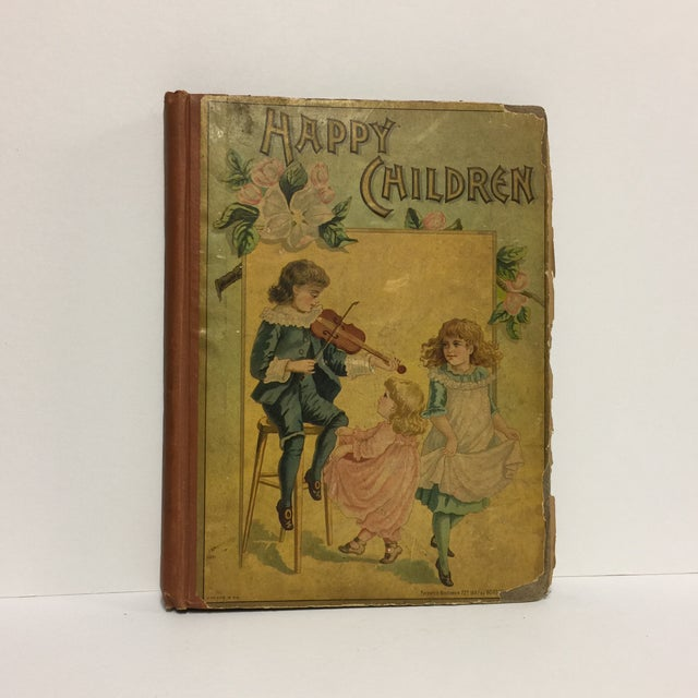 "1889 ""Happy Children "" Lithographs Book For Sale - Image 13 of 13"