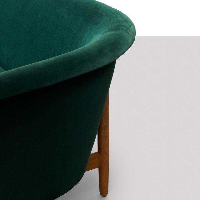Oak Nanna Ditzel Curved-Arm Sofa For Sale - Image 7 of 9