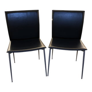 Pair of Side Chairs For Sale