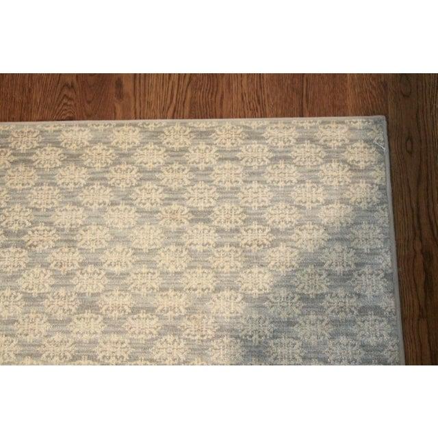 Contemporary Stark Carpet Contemporary Blue & Cream Rug 16'x16' For Sale - Image 3 of 5