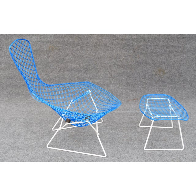 "1960s Mid-Century Modern ""Bird"" Chair & Ottoman For Sale - Image 5 of 10"