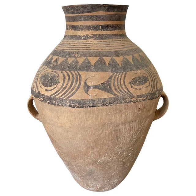 Chinese Neolithic Painted Pottery Jar For Sale - Image 13 of 13