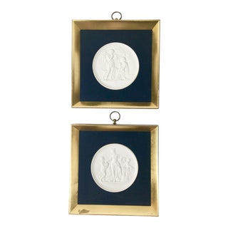 Royal Copenhagen Plaques – a Pair