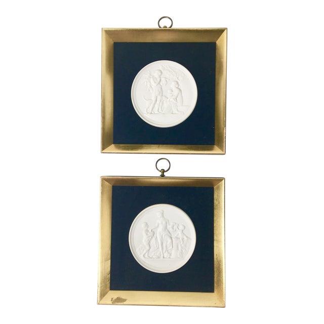 Royal Copenhagen Plaques – a Pair For Sale