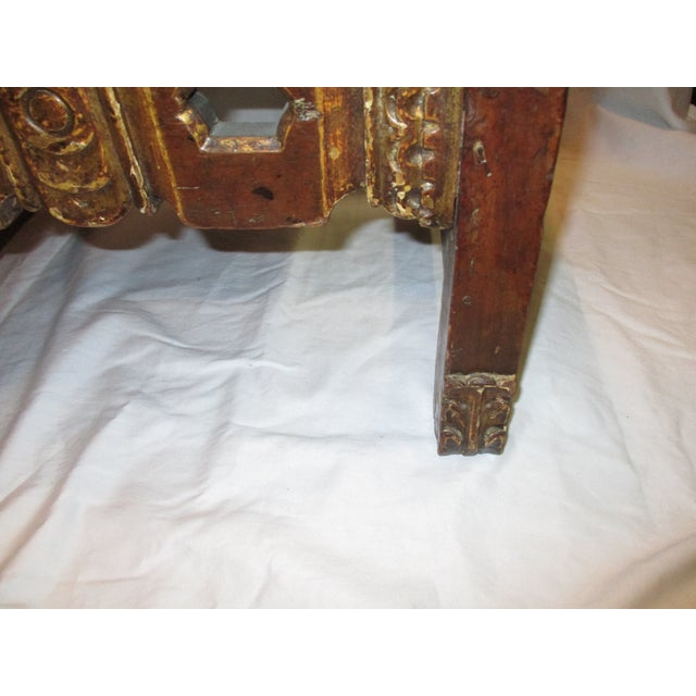 17th Century Style Italian Side Chairs - a Pair For Sale - Image 4 of 8