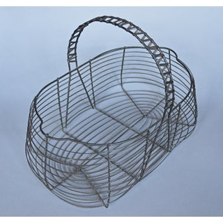 French Wire Egg Basket Preview