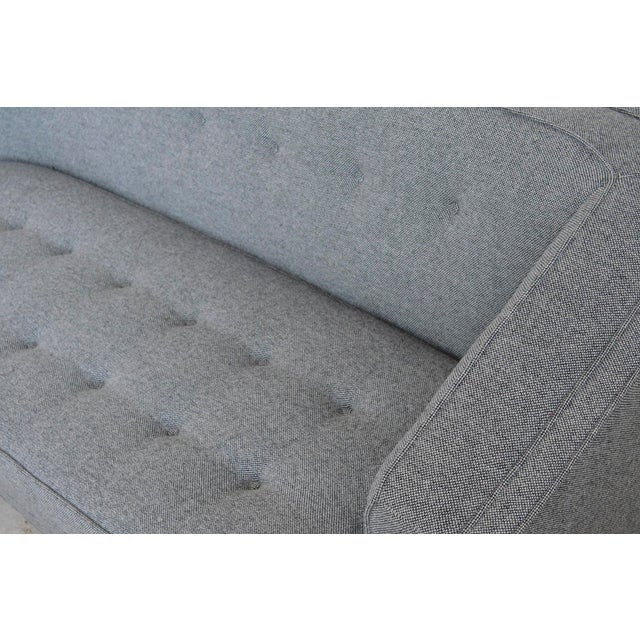 1950s Harvery Probber Large Angled One-Arm Sofa For Sale - Image 5 of 11