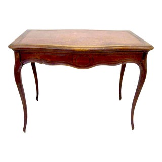 Mid 19th Century Vintage French Provincial Louis XV Desk For Sale