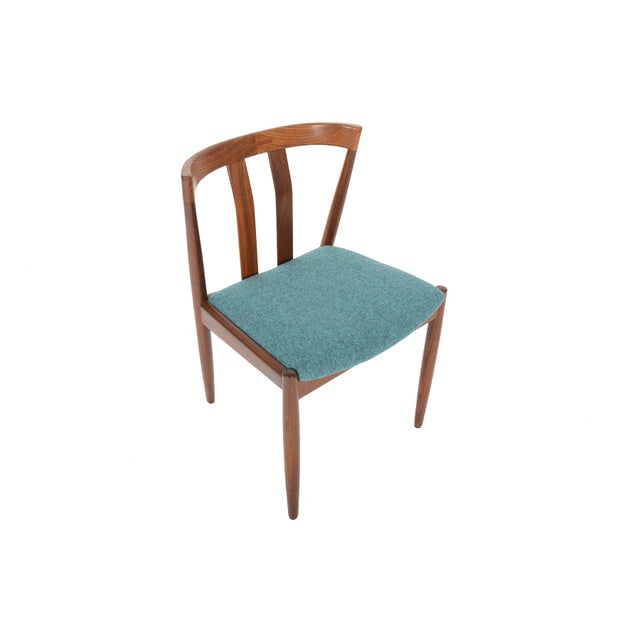 Danish Modern Curved Back Teak Dining Chairs - Set of 6 - Image 3 of 10