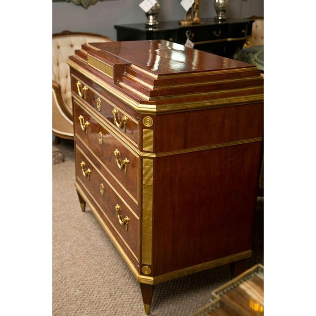 Metal Russian Neoclassical Dresser For Sale - Image 7 of 9