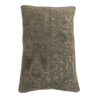 Persian Lumbar Rug Pillow For Sale