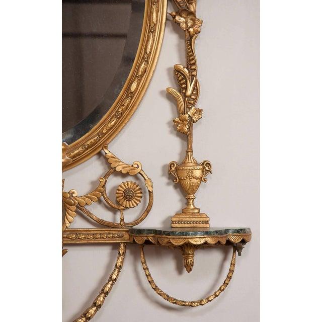 George III Style Giltwood Girandole Mirror For Sale In Boston - Image 6 of 11