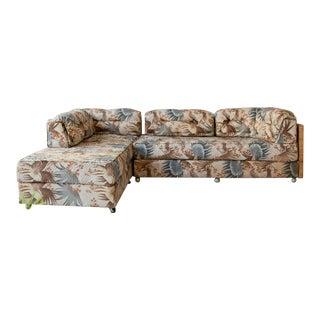 1970s Vintage Boho Sectional Sofa For Sale