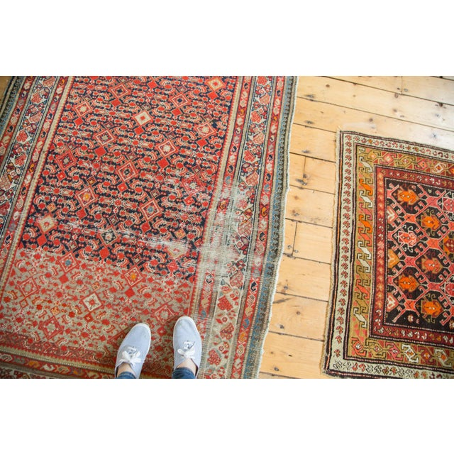 "Distressed Antique Malayer Rug - 4'1"" X 6' - Image 3 of 8"