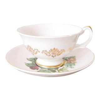 Vintage Royal Grafton Fruit Tea Cup and Saucer - a Pair For Sale