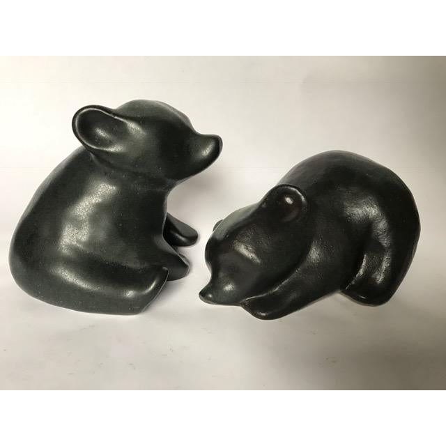 These are the most lovable figurines - perfect for winter mantle decor. Both are signed RL (Richard Lindh) and one has the...