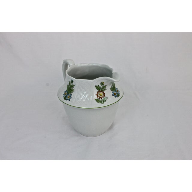 1980s Royal Cauldon Ironstone Cream Pitcher For Sale - Image 5 of 7